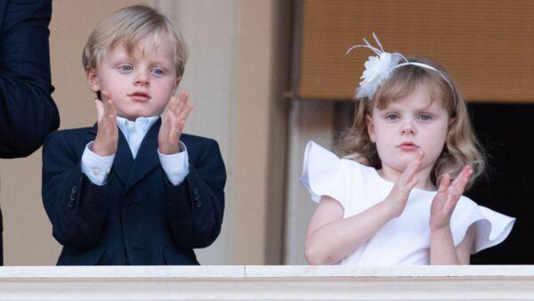 Príncipes Jacques y Gabriella de Mónaco