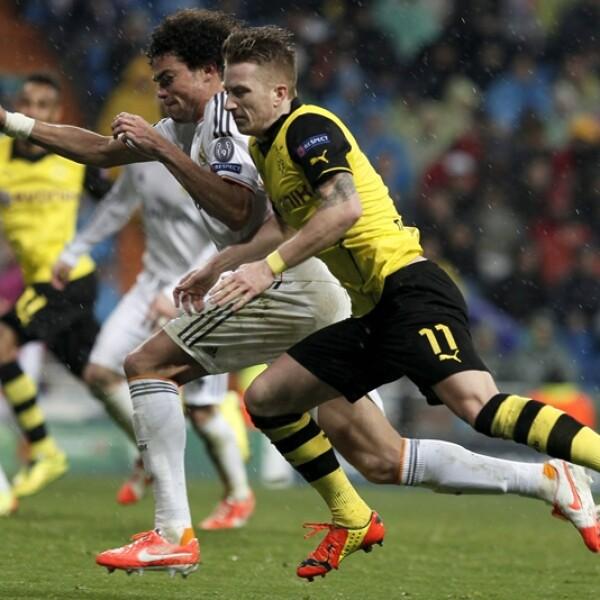 El partido entre Real Madrid y Borussia Dortmund se peleó en cada centímetro