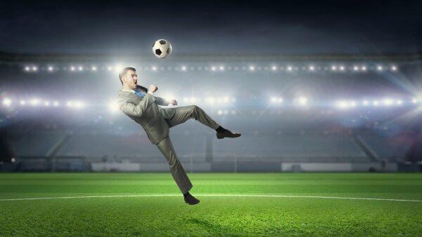 futbol negocios hombre mercados