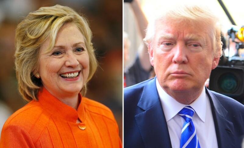 Entre polémica y críticas, Donald está a solo seis puntos de alcanzar a Hillary Clinton en las encuestas.