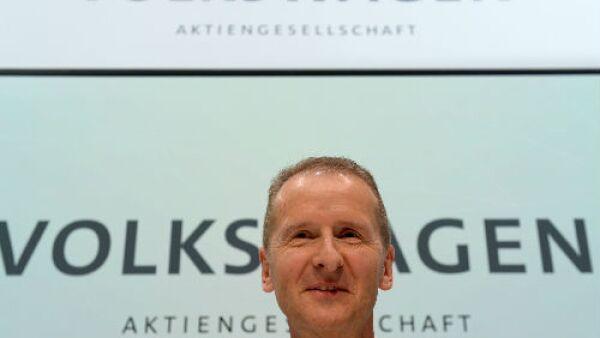 Herbert Diess, presidente del Grupo Volkswagen