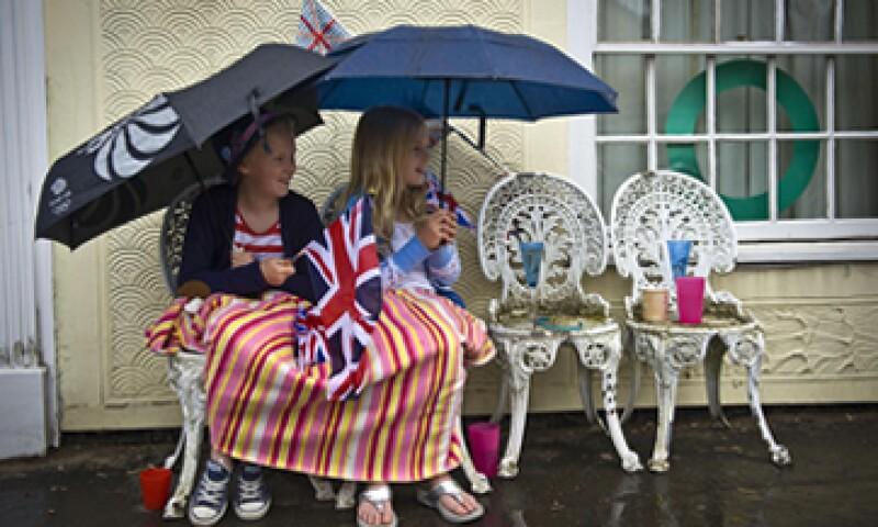 El Reino Unido atraviesa por uno de los periodos más lluviosos.  (Foto: AP)
