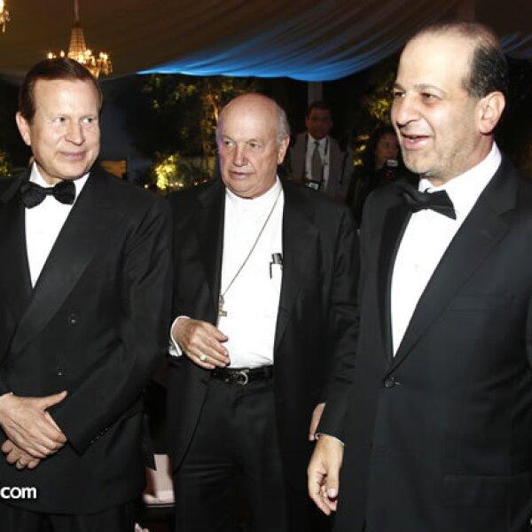 Miguel Ángel Núñez, Onésimo Cepeda y Héctor Slim