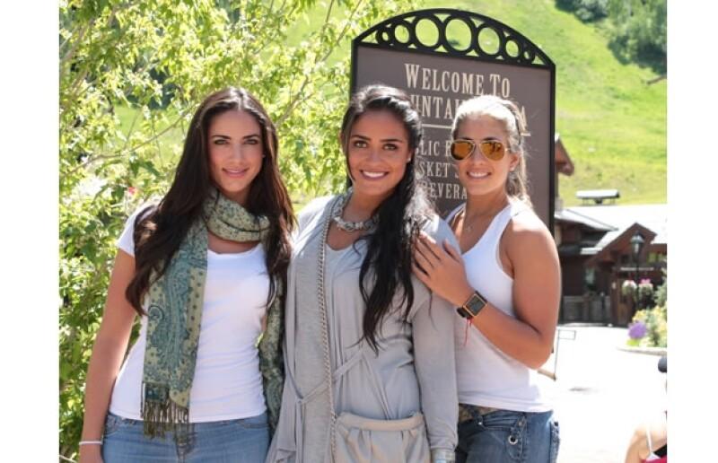 Roxana, Alessandra y Nunzia Rojo de la Vega