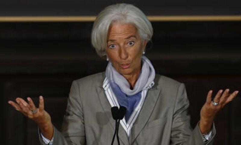 La jefa del FMI dice que la recuperación no ha sido suficientemente buena. (Foto: Reuters)