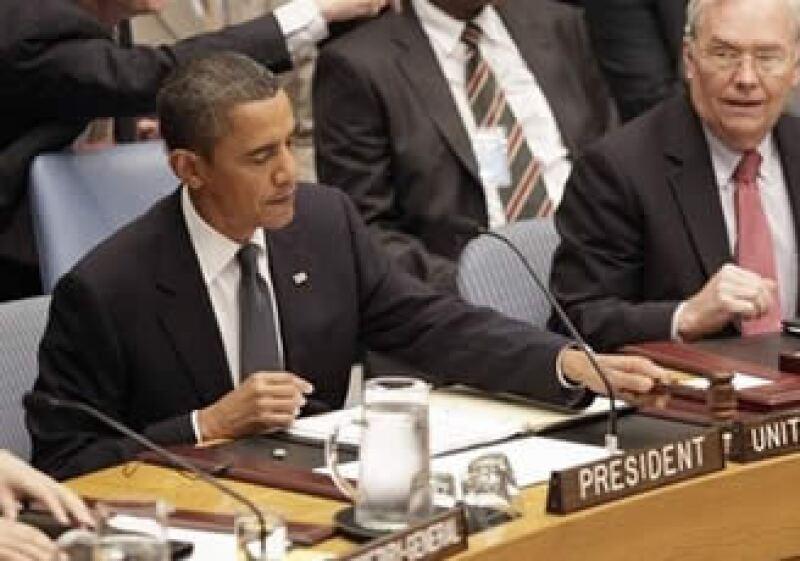 Por primera vez un mandatario estadounidense encabezó una cumbre del Consejo de Seguridad desde su creación en 1946. (Foto: AP)
