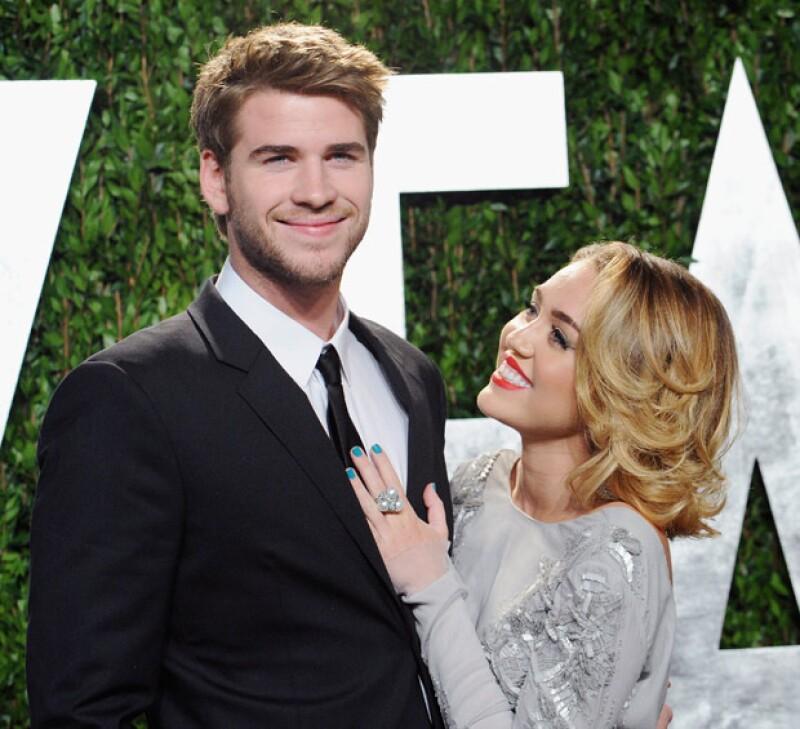 ¿Habrá boda pronto de Miley y Liam?