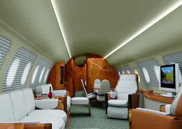 El avión es uno de los más sofisticados a nivel mundial.