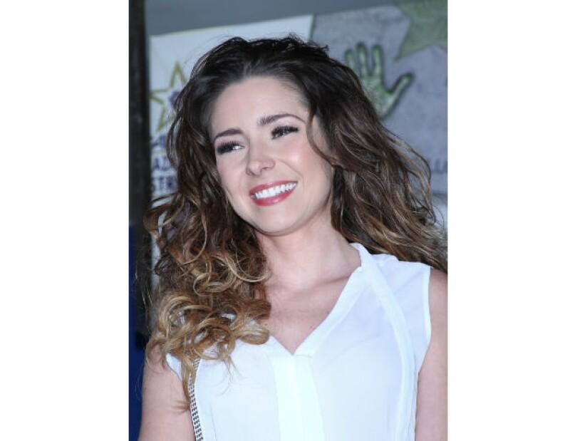 La actriz tapatía habló en exclusiva para Quién.com acerca de su actual relación con su ex pareja, José Ron.