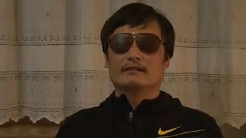 El activista invidente Cheng Guangcheng escapó