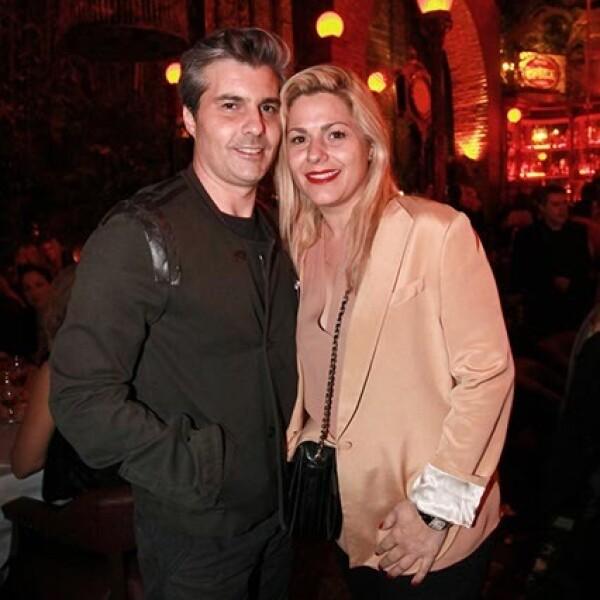 Ernesto Barra y Liliana Sada