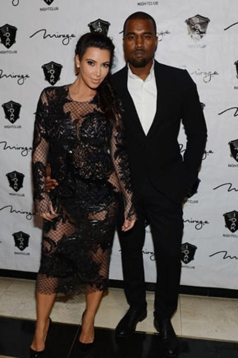 Pese a que su novio Kanye West quiere contratar niñeras para que la estrella de reality show no se estrese.