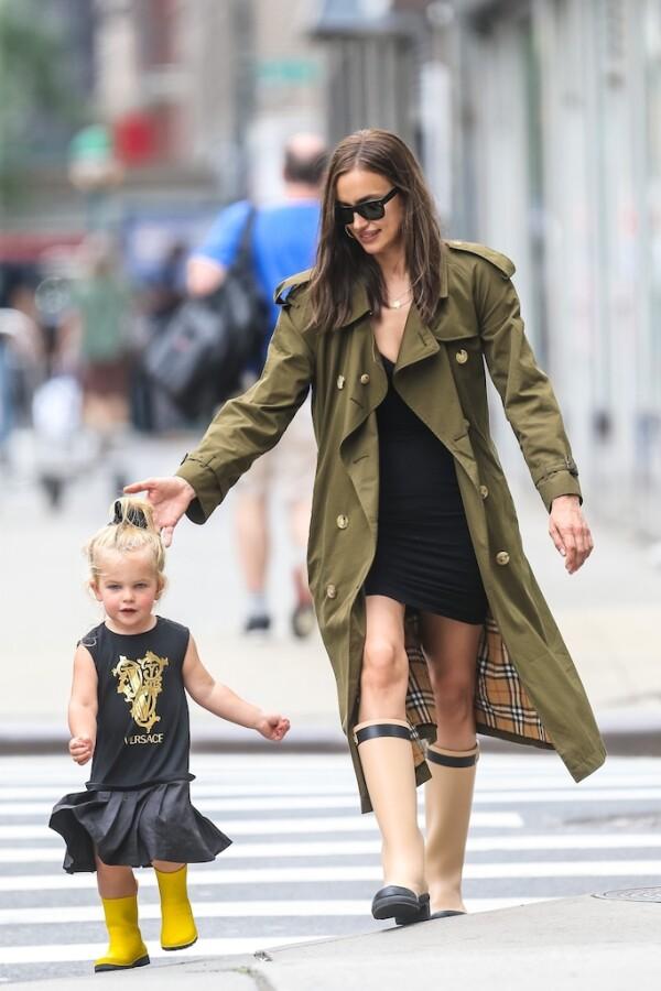Irina Shayk y su hija, Lea De Seine.