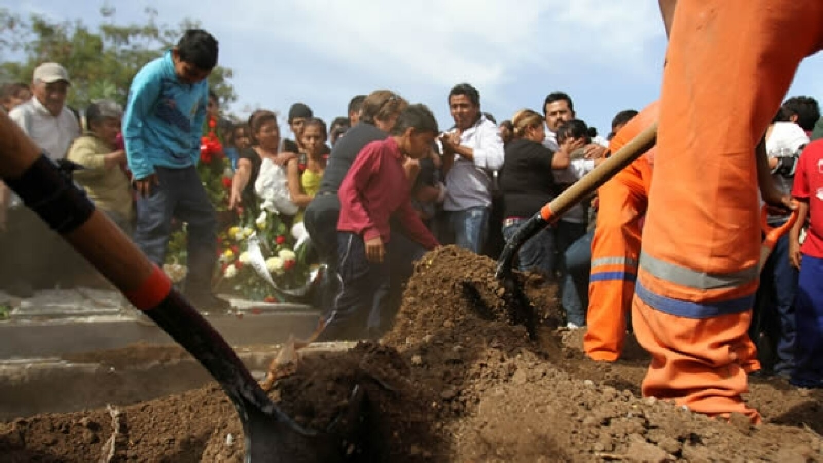 Kombo Kolombia funeral 7