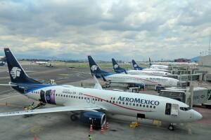 Aeroméxico informa sobre alerta