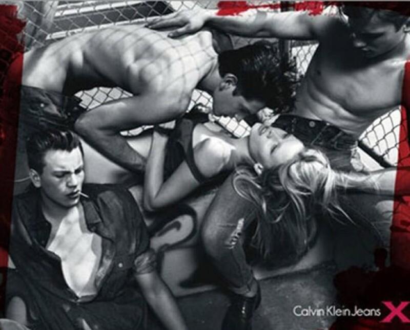 La campaña violenta de Calvin Klein