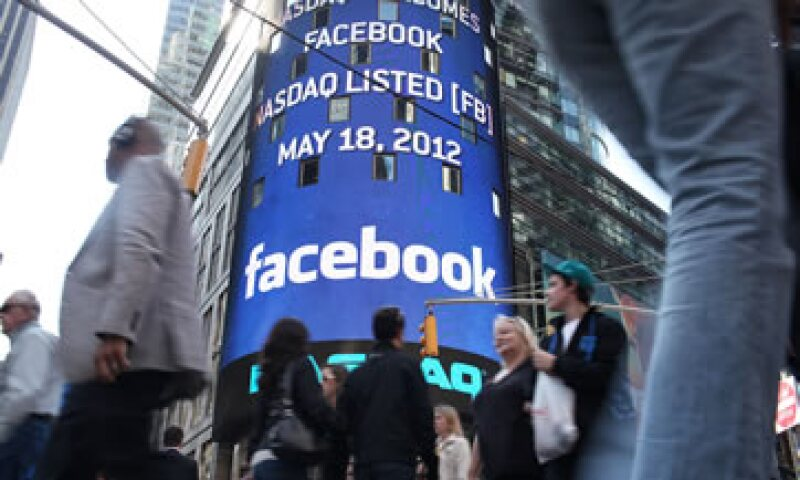 Facebook, creada en 2004, cotiza en Wall Street desde 2012. (Foto: Getty Images )
