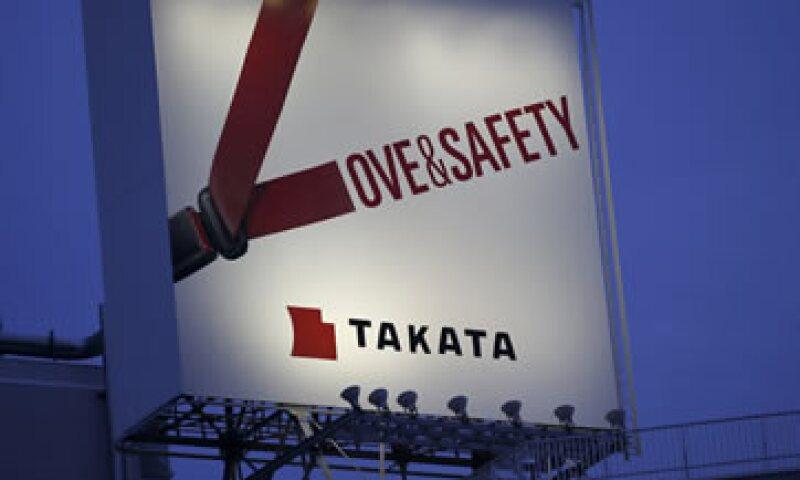 Takata tiene hasta el 5 de diciembre para entregar la información solicitada.  (Foto: Reuters )