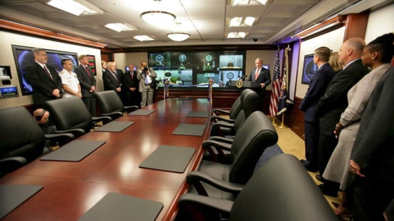 La Sala de Crisis de la Casa Blanca cumple 50 años