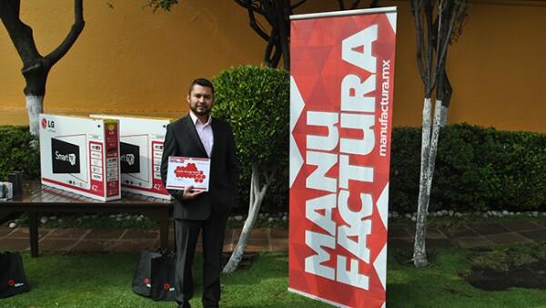 Carlos Montoya, 3er lugar en la categor�a estudiantes.