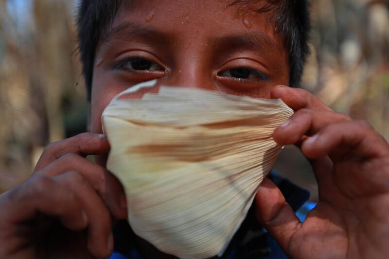 Comunidad Triqui en Juxtlahuaca, Oaxaca
