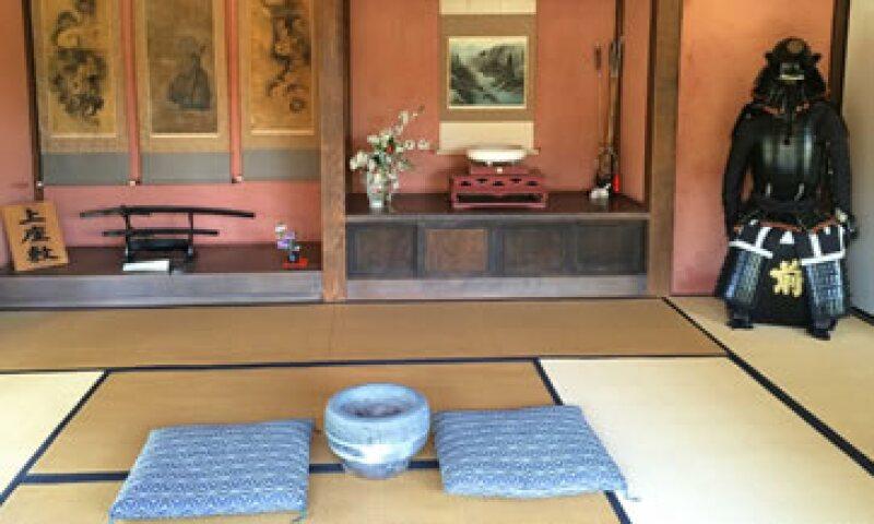 Un viejo cuarto de un samurái en Japón. (Foto: CNN)