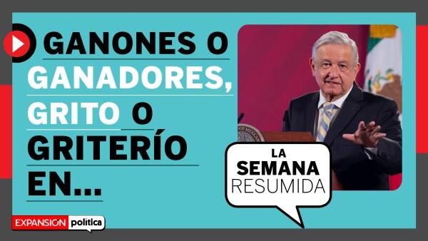 La rifa, el grito y la consulta, los temas ganadores | #LaSemanaResumida