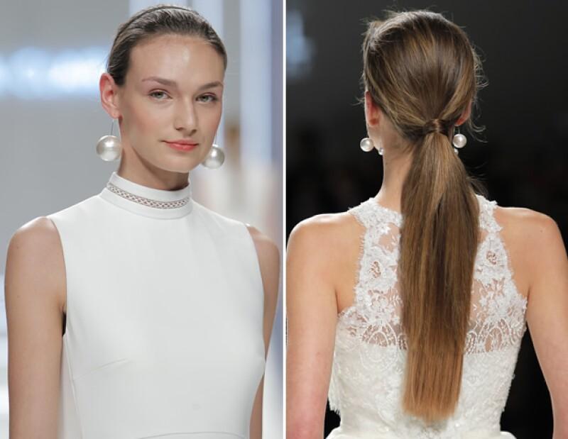 El beauty look permitió que el enfoque central sea el rostro de la novia.