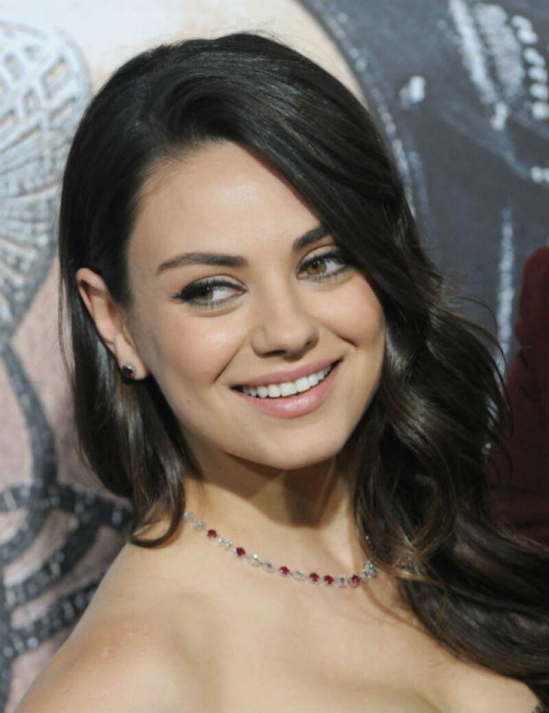 Mila Kunis estrena este fin de semana la película Jupiter Ascending.