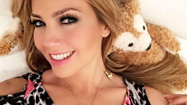 Thalía posó recientemente para Revista Quién, además de presentar su línea de ropa en Macys.