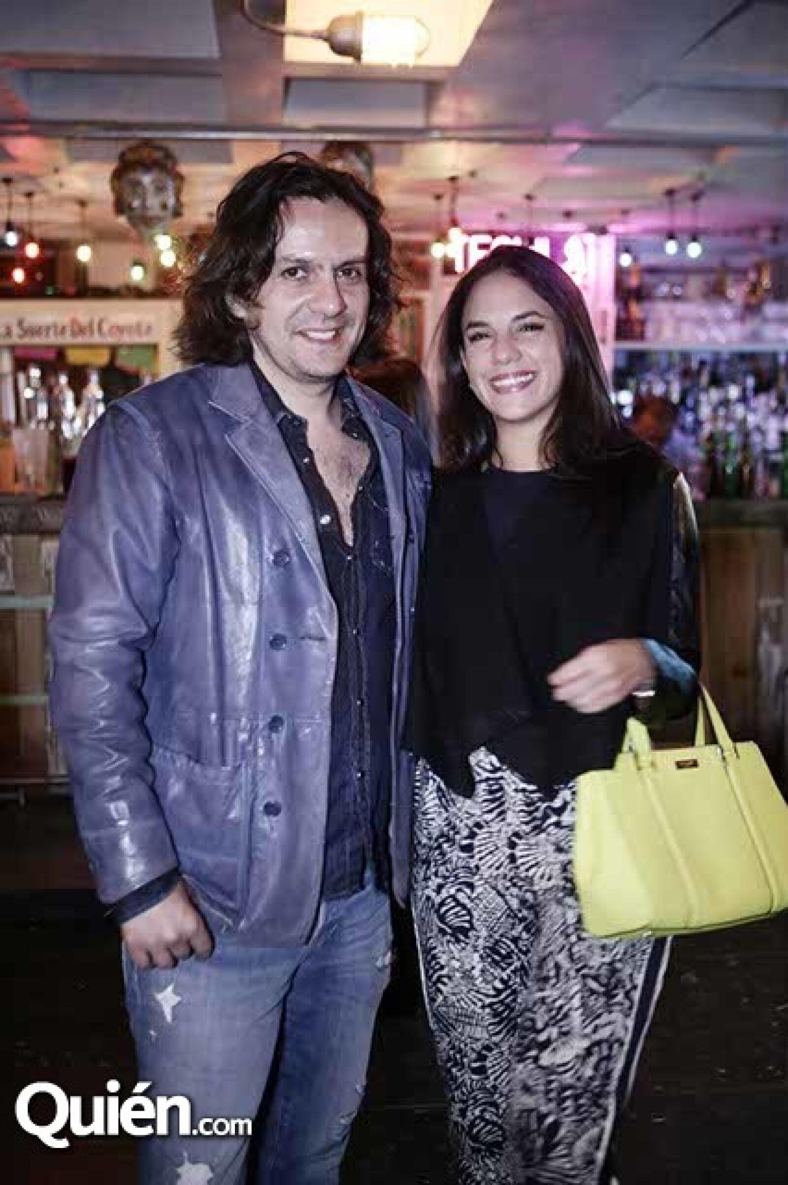 Jorge Rubio y Natalia Arreola