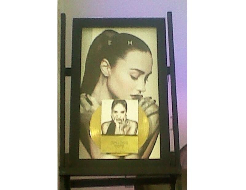 """La actriz y cantante está en la capital mexicana para promover su producción discográfica """"Demi"""", durante la conferencia reveló que será en mayo de 2014 cuando traiga su tour."""