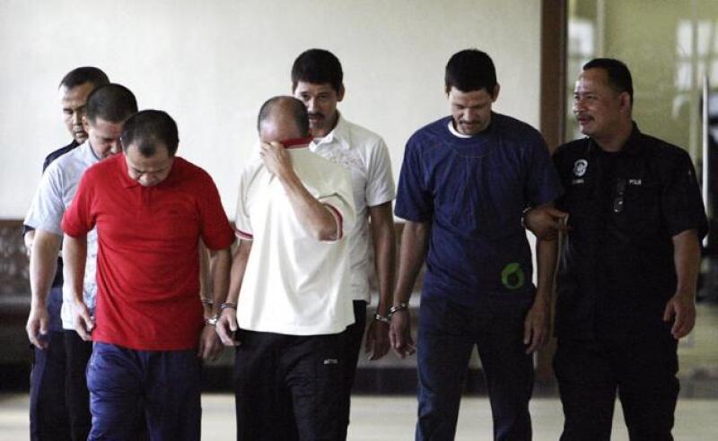 mexicanos condenados en Malasia