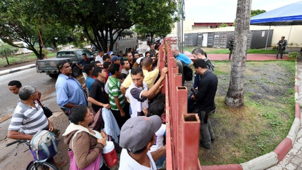 Venezuela Brasil frontera migrantes