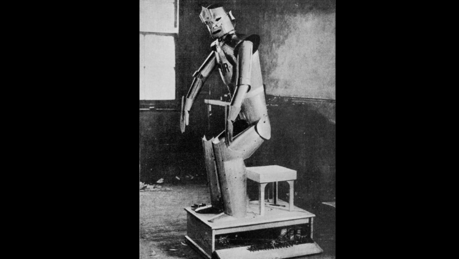 Robots Universales de Rossum? 1929
