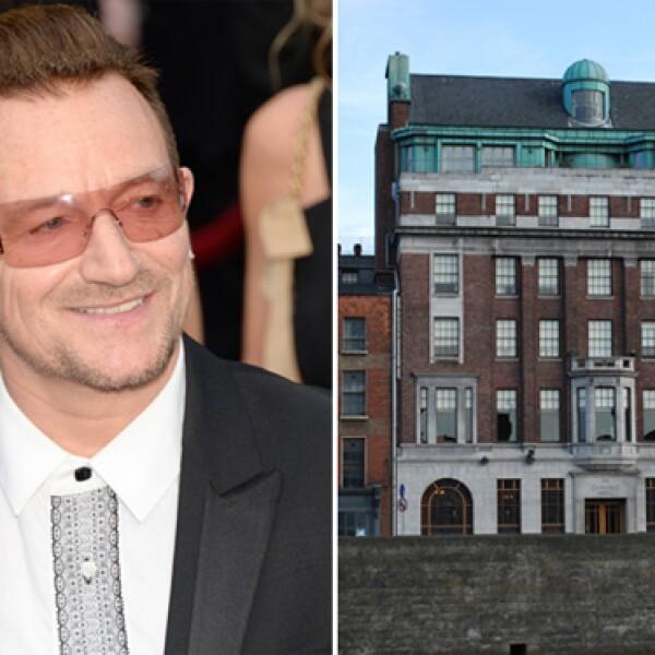 Bono, junto a su compañero en U2, The Edge, compraron The Clarence a las orillas del río Liffey, en Dublin y lo convirtieron en uno de los hot spots de la capital irlandesa.