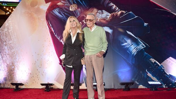 Stan Lee y Joan Celia, su hija