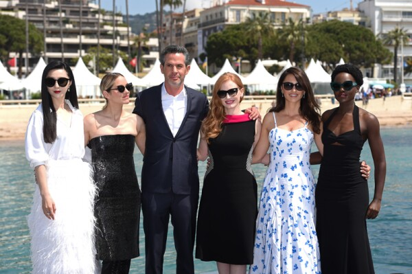 """""""355"""" Photocall - The 71st Annual Cannes Film Festival"""