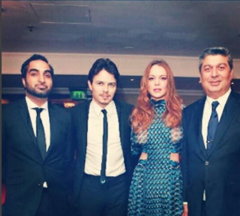 Recientemente la pareja asistió a la 6ta edición de los Anual Assian Awards en Londres.