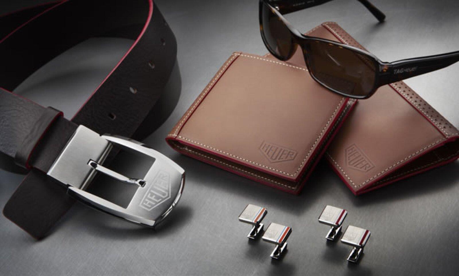 La firma suiza festeja su 150 aniversario con una nueva colección de accesorios. Aquí vemos piezas de la 'Vintage Collection', inspirada en Steve McQueen y los pilotos protagonistas de la película de 1970 titulada LeMans.