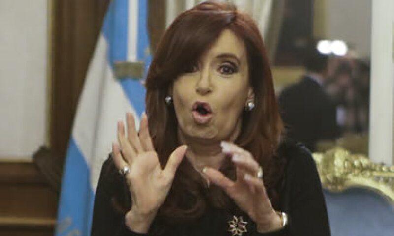 Cristina Fernández no ha hecho oficial que buscará un tercer mandato. (Foto: AP)