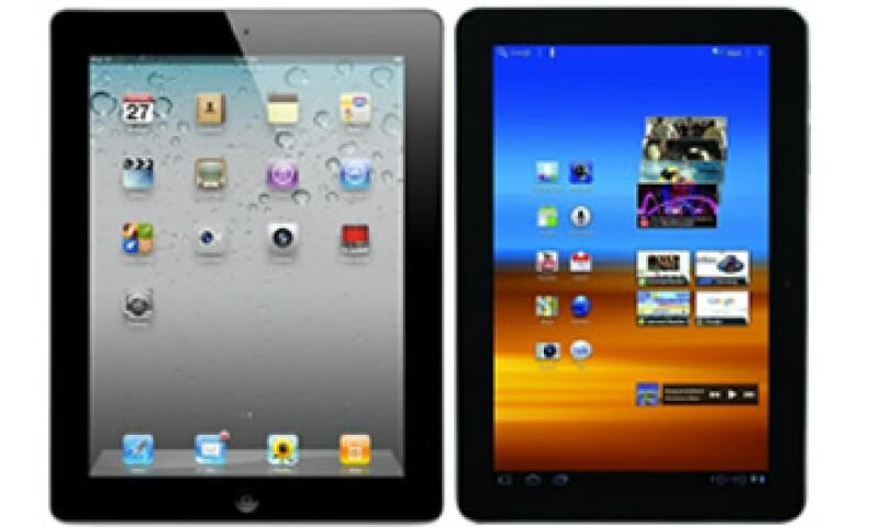 """El tribunal consideró a la Galaxy Tab 10.1 """"prácticamente indistinguible"""" de la iPad.   (Foto: Cortesía Fortune)"""