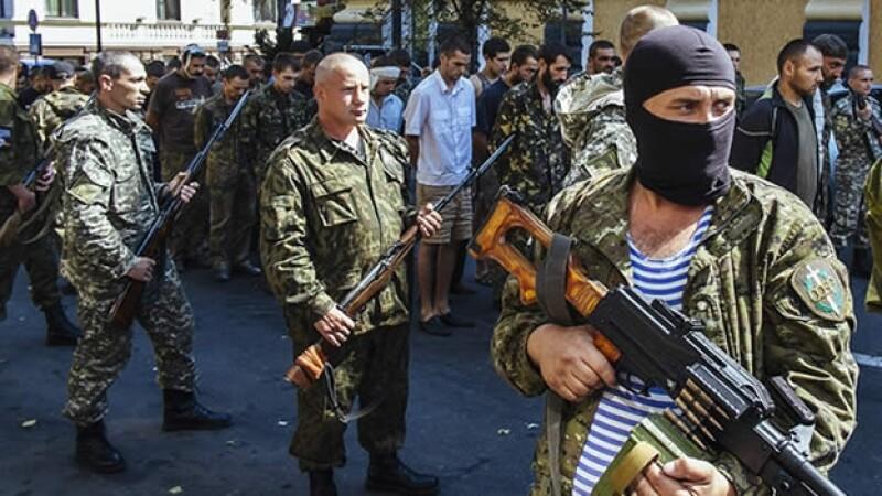 ucrania y soldados rusos