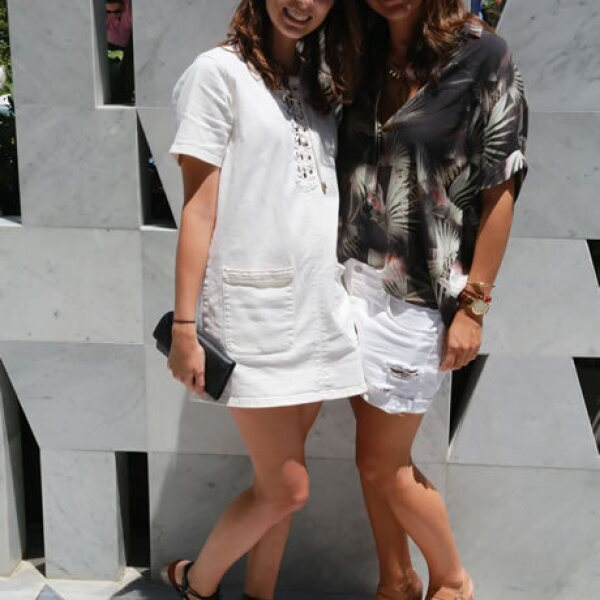 Andrea Sheridan y Alejandra Martínez