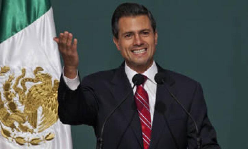 Enrique Peña Nieto es un buen gerente que ha sabido rodearse de personas competentes, según sus cercanos. (Foto: AP)