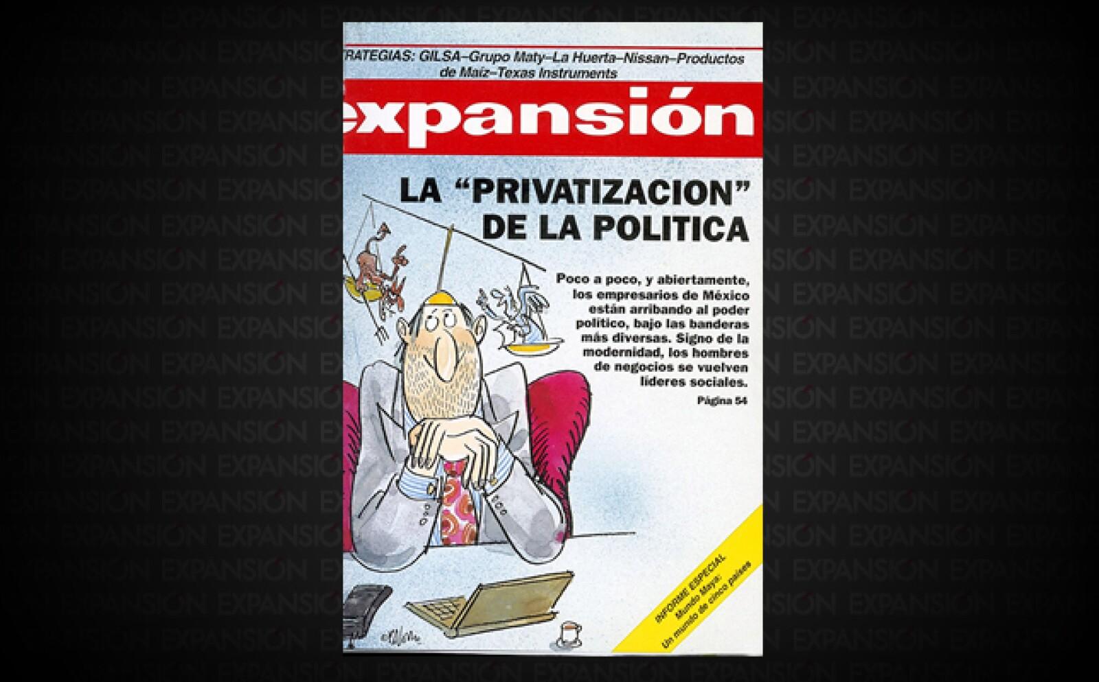 Una ola de empresarios arribaba al poder político a principios de la década y en todos los niveles de gobierno; el más emblemático Manuel Clouthier.  Le seguían otros destacados como Ernesto Ruffo Appel y Francisco Barrio.