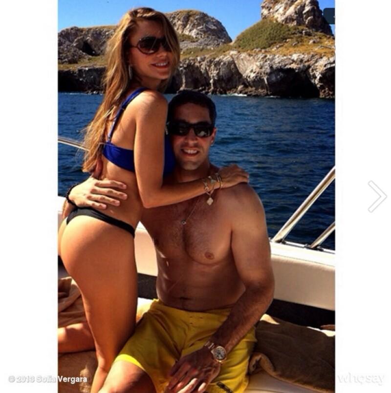 Se había dicho que la actriz podría haberse separado de Nick Loeb, pero ella lo desmiente con una súper sexy imagen de ambos disfrutando de las playas mexicanas.