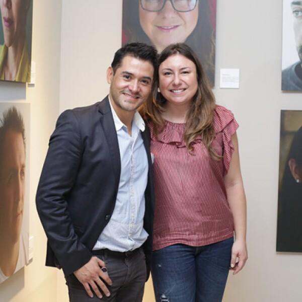 David Cuevas y Elizabeth Gómez