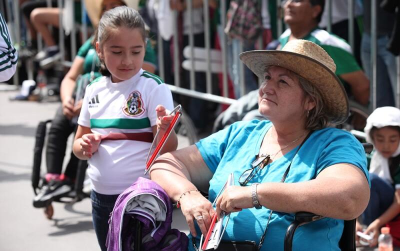 Zocafut México vs. Corea en el Zócalo 3
