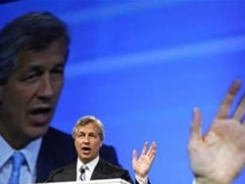 Jamie Dimon, líder de JP Morgan, participó este jueves en el Foro Económico. (Foto: Reuters)